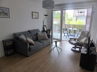 Photo for NEW Large, comfortable 2-room apartment with great location