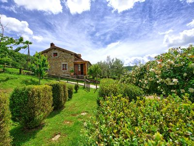 Photo for Lovely villa with large private swimming pool and panoramic views near Cortona