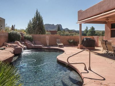 Photo for Beautiful Pueblo Style Home with Private Pool, Hot Tub and Red Rock Views!! S050
