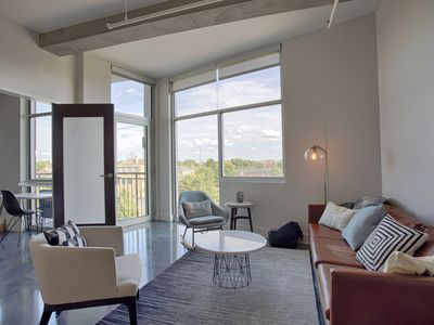 Photo for Sleek New Modern Downtown Condo - Corporate Rental