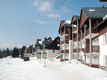 Horni Misecky-Medvedin Ski Resort, Vitkovice, Liberec (region), Czech Republic
