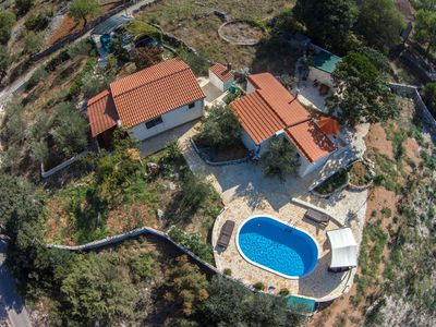 Photo for Holiday houses Pia,nature&privacy,few minutes from the sea with huge garden