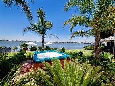 Photo for Absolute Waterfront at Edgewater Luxury on Lake Mulwala