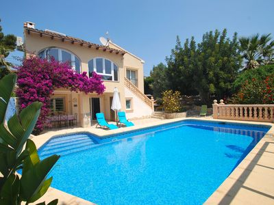 Photo for Beachnear holiday home with private pool, air condition, internet, near restaura