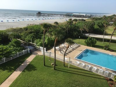 Photo for Premier Unit at Cocoa Beach Towers: Top Floor Corner closest to the Ocean & Pier