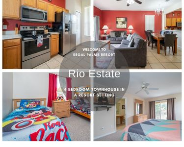 Regal Palms Resort Town Home With Extensive Facilities Close To Attractions Regal Palms