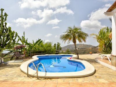 Photo for Picturesque villa with ocean views, private pool & terrace!