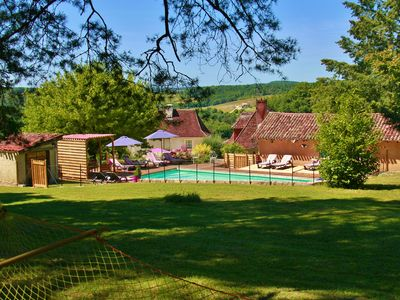 Photo for Le Clos Romantic, charming house on a hill in a 7-acre park