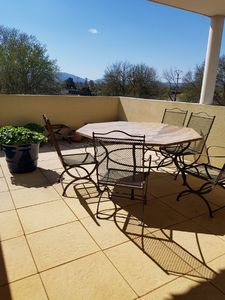 Photo for Charming terrace apartment 4 pers. Port Grimaud, Provence-Alps-French-Riviera