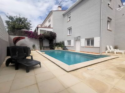 Photo for COQUETTE HOUSE 6 PERS PRIVATE POOL GARDEN BARBECUE IN PEACE 15MN BEACHES