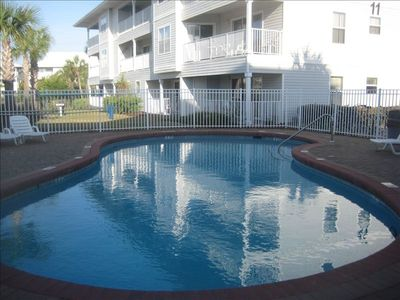 Well maintained - two beautiful pools!