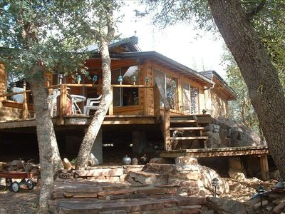 Photo for Payson Mountain  Cabin, Secluded, Cool, Quiet, Near Forest