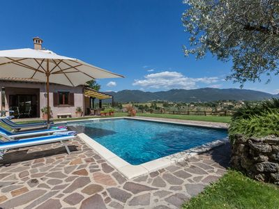 Photo for Luxury villa with pool near Rome, 27 hectares of olive trees, fantastic views.