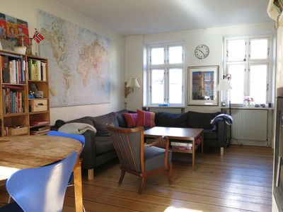 Photo for City Apartment in Copenhagen with 4 bedrooms sleeps 8