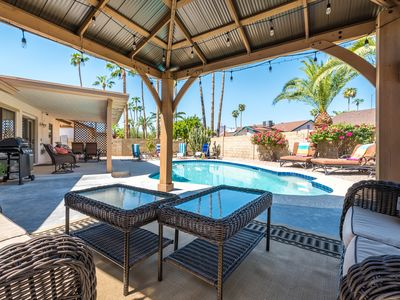 Photo for REMODELED Mesa Getaway with SPARKLING HEATED POOL