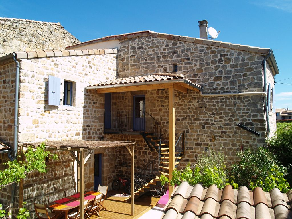 Traditional house Ardèche, SPA 4 to 6 perso... - HomeAway 8ea31fe78f70