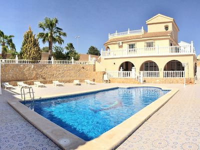 Photo for Immaculately Maintained Villa With Superb Private Pool Area