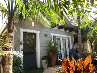 Tropical Beach Bungalow With Parking Garage Space Wifi And Washer Dryer Huntington Beach