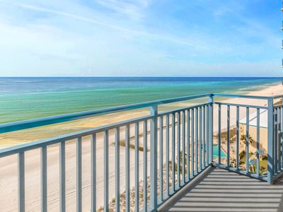 Photo for Sterling Breeze 802-2BR+Bunks-BeachFRONT-Pool! Oct 25 to 27 $591 Total! FunPass