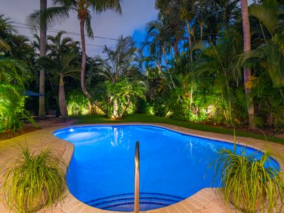 Welcome to Palm Terrace, A Tropical Paradise with Spacious & Private Grounds!