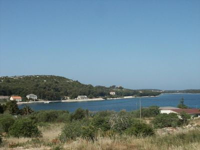 Photo for One bedroom apartment with terrace and sea view Cove Soline, Dugi otok (A-448-f)
