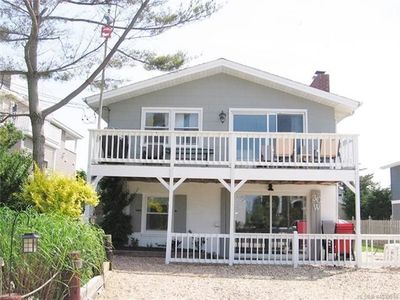 Photo for Bright and Airy- Family Owned Duplex- Bay and Lighthouse Views on Barnegat Light
