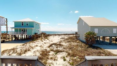 Photo for Something New, Newly Renovated 2 Bedroom Pet-Friendly Beachfront Home!