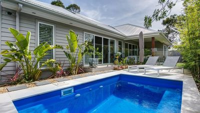 Photo for Palm Beach Cottage - Pool, Air Con and Foxtel