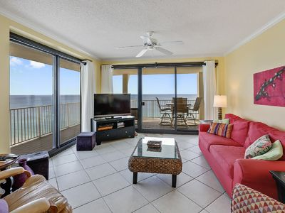 Photo for BEST VIEW ON THE ISLAND - East end corner with wrap-around balcony!