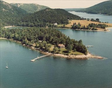 Best-in-Class Oceanfront Cottage with Dock Minutes from Acadia