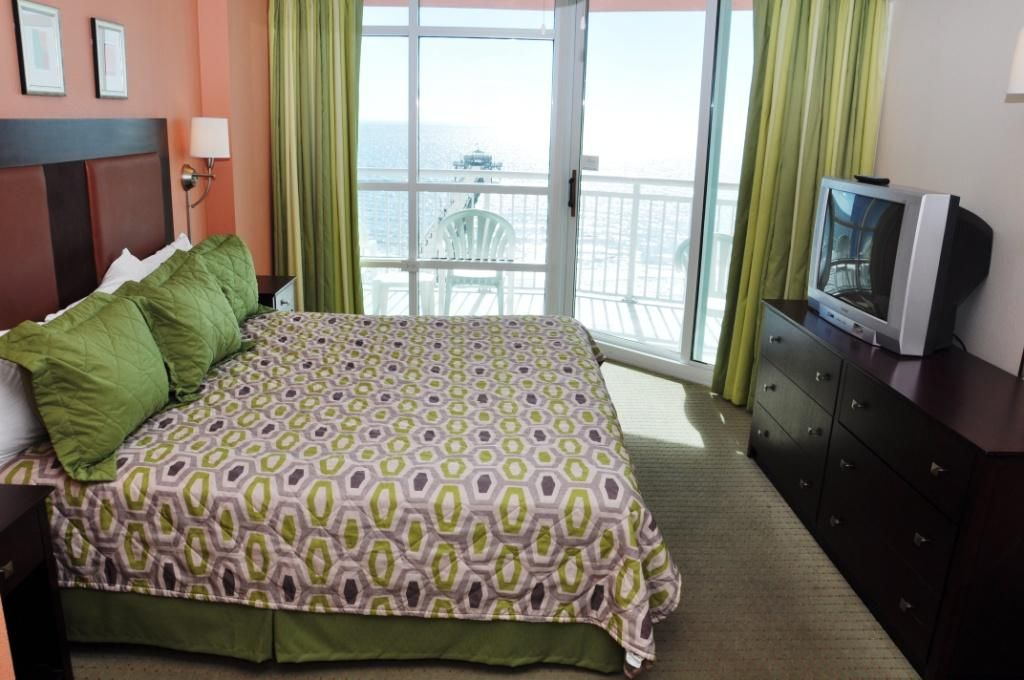 Two Bedroom Oceanfront Condo With Great Amenities Cherry Grove Beach Myrtle Beach Grand