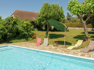 Photo for Modern Villa in Salagnac France With Private Swimming Pool