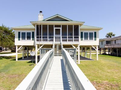 Photo for Sound Choice - Delightful Beach Front Cottage With Views For Days