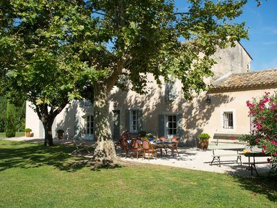 Photo for SAINT REMY DE PROVENCE CAMPAGNE Renovated farmhouse with heated pool and tennis