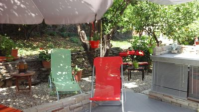 Photo for Fully equipped room independent entrance private garden and private terrace