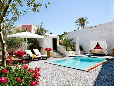 Photo for Mansion Sophia, with private pool and panoramic terrace,2 bedrooms and 1 bathroom, up to 4 sleeps.