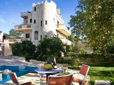 Photo for Gianni's castle ★Private pool★close to Platanias