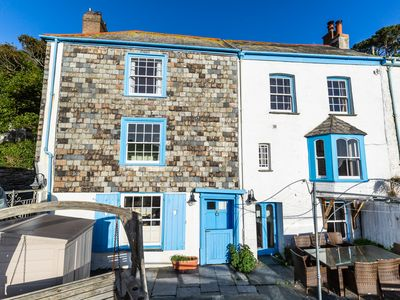 Photo for Polperro House. Sleeps 10. 2 parking spaces, dog friendly, stunning sea views