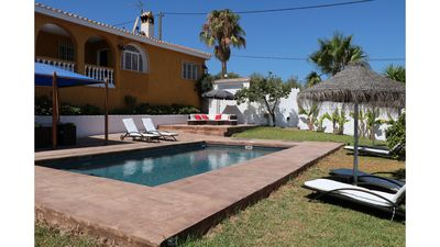 Photo for Villa with panoramic view over the Bahia de Málaga, on the Costa del Sol