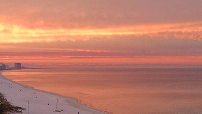 Beautiful Sunrise as seen from Your Balcony