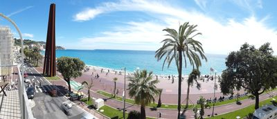 Photo for Superb 4/5 rooms facing the Baie des Anges