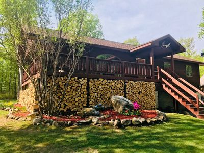 Vacation home sleeps 20, Close to Lake Superior & Very private.