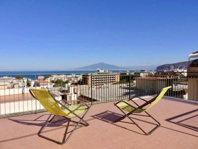 Photo for Sorrento Penthouse in the Center, amazing view