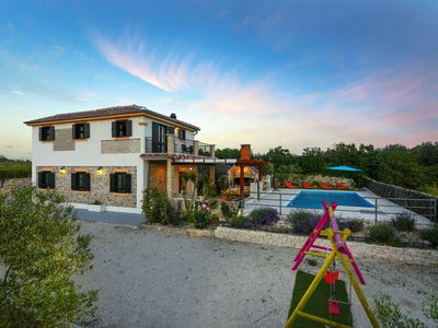 Photo for 4km Zadar center, surrounded by nature, kid's oasis, total privacy, isolation