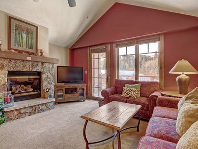 Photo for Bright + Scenic 2Br - 7ppl Steps to Ski Lifts + Main Street