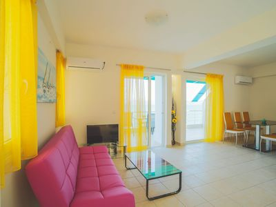 Photo for Seaview-Two Bedrooms-Beachfront–Fully Furnished Apartment 75 sqm