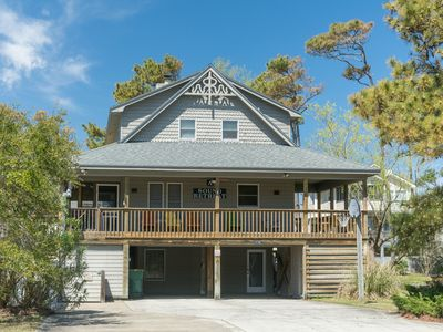 Photo for A Sound Retreat: Private saltwater pool, hot tub, great Corolla Light community amenities.