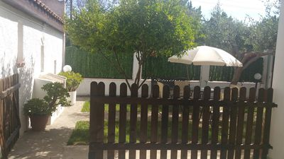Photo for Apartment in two-family independent villa in Menfi 2 steps from the sea