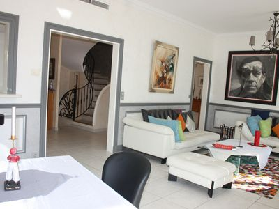 Photo for SUPERB VILLA CANNES CENTRE, AIR CONDITIONING, WIFI, private pool & garden calm
