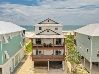 Photo for Gulf Front Beach Rental with Hot Tub and Great Views